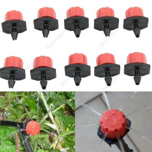 50pcs-Garden-Irrigation-Misting-Micro-Flow-font-b-Dripper-b-font-Drip-Head-1-4-Hose (2)