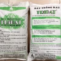 Đất sạch trồng rau Tribat