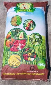 Phân hữu cơ vi sinh gà GREEN LIFE 1Kg