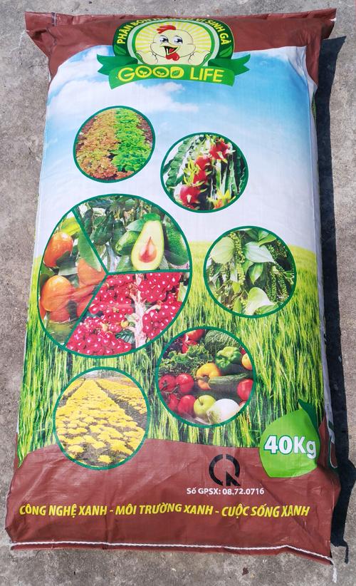 - Phân hữu cơ vi sinh gà GREEN LIFE