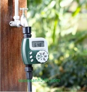 Đồng hồ hẹn giờ tưới tự động chạy pin chống nước