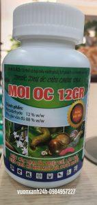 Thuốc diệt ốc Sên, Ốc Bươu Vàng hại cây trồng