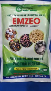 Chế phẩm vi sinh xử lý chất thải hữu cơ EMZEO