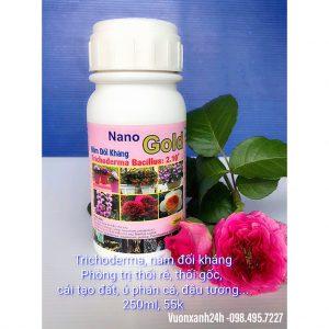Nấm Đối Kháng Trichoderma dạng nước NANO GOLD 250ml