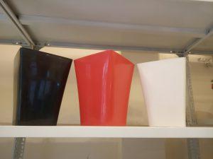 Chậu hoa vuông cao để bàn 20cm x25 cm