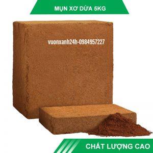Mụn dừa ép bánh 5kg tương đương bao năng 25kg ( 70 dm3)